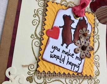 Happy World Card