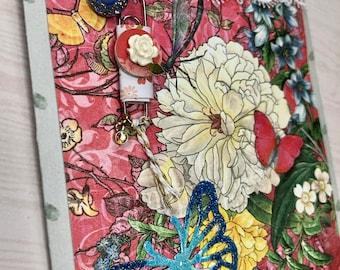 Little Floral memo book gift set