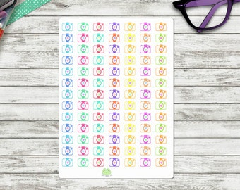 Camera Instagram Planner Stickers-small