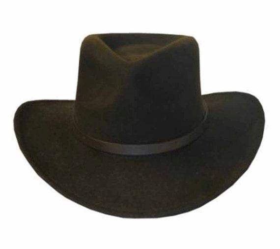 BENTLEY OUTBACK Crushable Outback Wool Felt Hat Fedora  1f3794de416