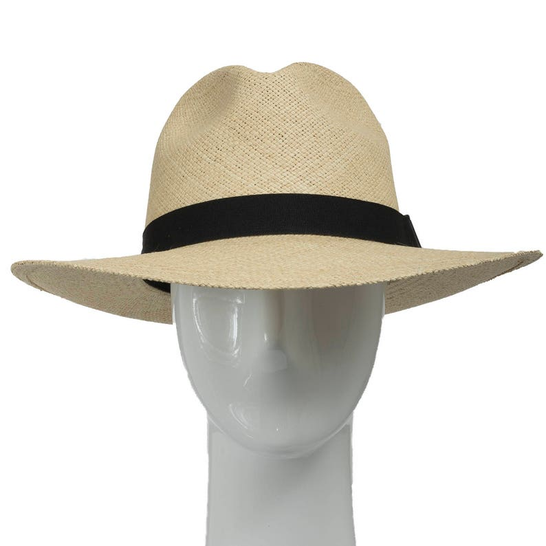 FEDORA PACKABLE FOLDABLE Panama Straw Hat Classic  c129e6acea0