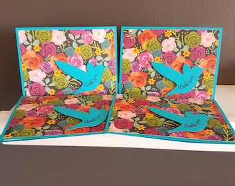 Hummingbird Thank You Cards