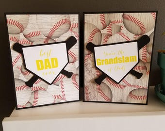 Father's Day Baseball Card 2 pack