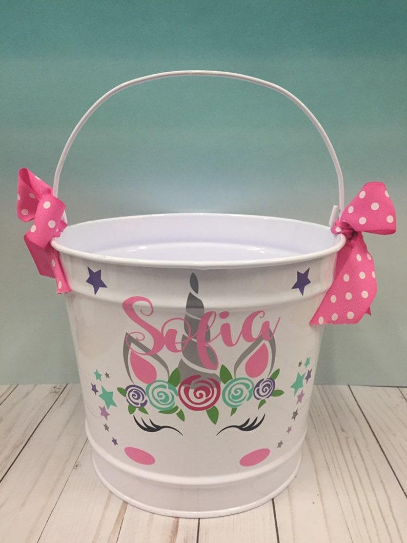 Personalized Easter Basket.Easter Basket for Girls. (latidagifts)