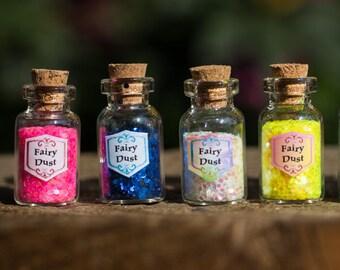 Fairy Dust Glass Bottle
