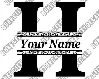 letter h monogram etsy