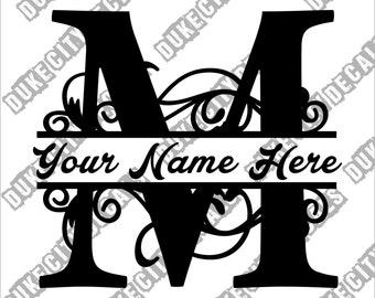 Letter M Monogram Etsy