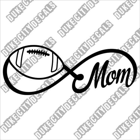 Football Mom Car Decal Vinyl Car Decal Football Mom Decal Football Mom Car Sticker Vinyl Car Sticker Football Mom