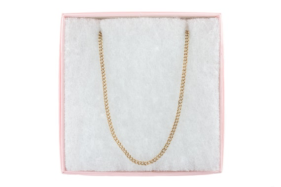 """Victorian Gold Curb Chain, 19"""" (6.9g) - image 10"""