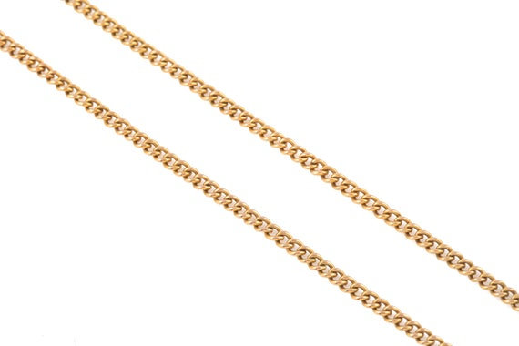 """Victorian Gold Curb Chain, 19"""" (6.9g) - image 7"""