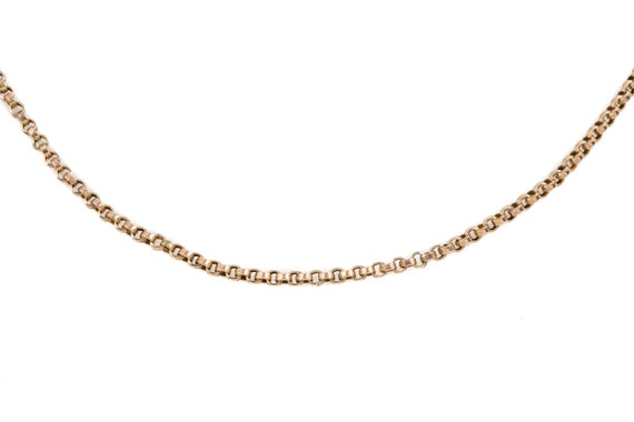 "Victorian Gold Belcher Long Guard Chain, 61"" (22.… - image 7"