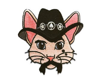 Lemmy Kittenmister Cat Patch