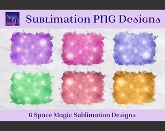 Sublimation PNG Designs - Space Magic