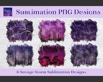Sublimation PNG Designs - Savage Storm Images