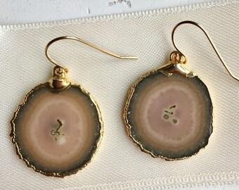 Agate Earrings--Agate Jewelry