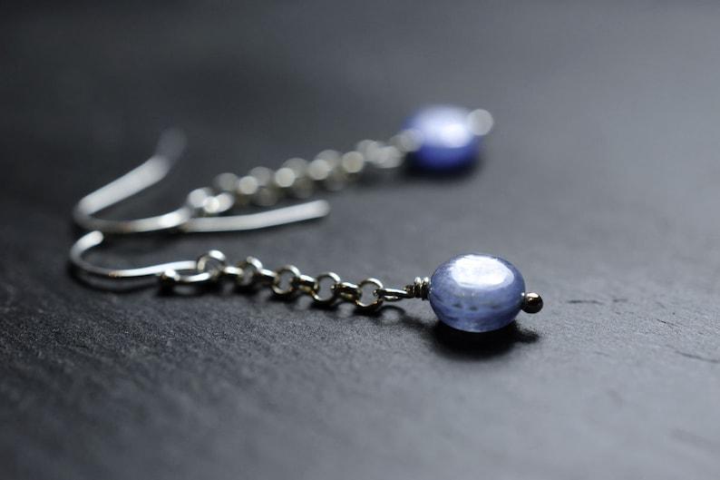 Kyanite earrings image 1