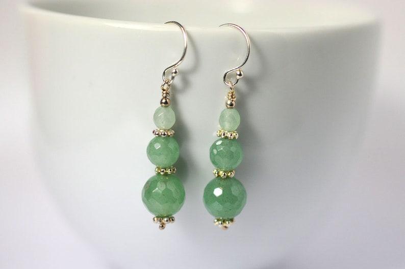 Aventurine earrings image 0