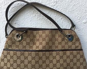 3938ee1d815 Vintage Gucci GG Logo Purse