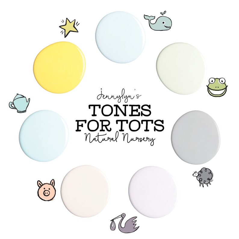 Jennylyn's Tones for Tots Natural Nursery collection image 0