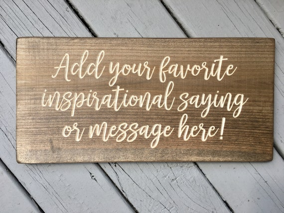 Wood Signs Sayings Personalized For Wedding Home