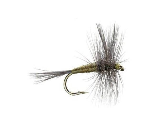 Blue Winged Olive - BWO - Classic Dry Fly - Hook Size 16 - Hand-Tied Fly Fishing Trout Flies