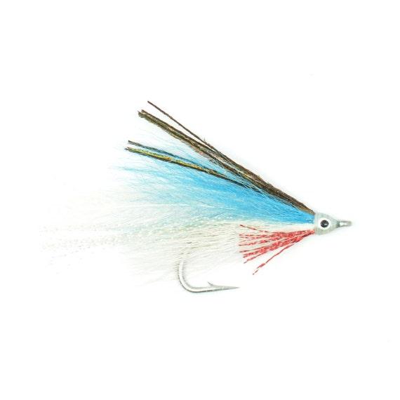 Lefty/'s Deceiver Blue//Yellow 1//0 saltwater flies