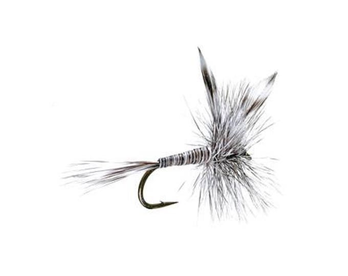 Mosquito Classic Dry Fly - Hook Size 14 - Hand-Tied Fly Fishing Trout Flies