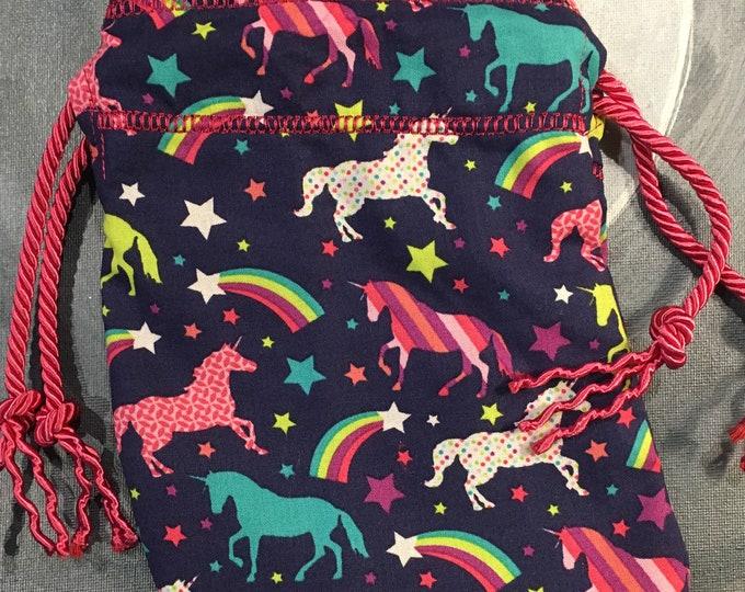 Unicorn and Rainbow Bag