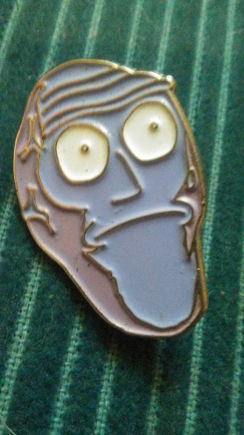 Rick and Morty hat pin | Etsy