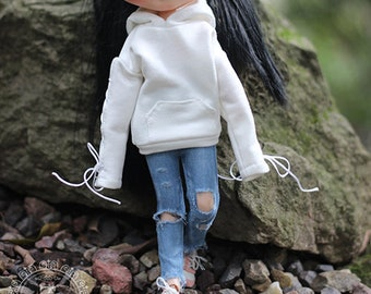 Ripped Jeans - Blythe Doll