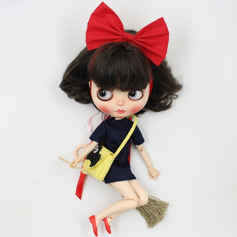 Dolls, Clothing & Accessories Fashion, Character, Play Dolls Sabrina The Witch Custom Blythe Doll