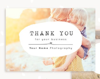 Thank you card template thank you printable photography etsy thank you note cards template for photographers thank you card 7x5 thank you card photography thank you card template business card friedricerecipe Choice Image