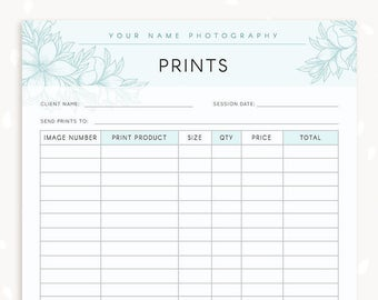 style guide template for photographers style guide etsy