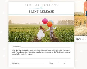photo print release form 5x5 photography forms forms for photographer photography contract templates for photographers print release