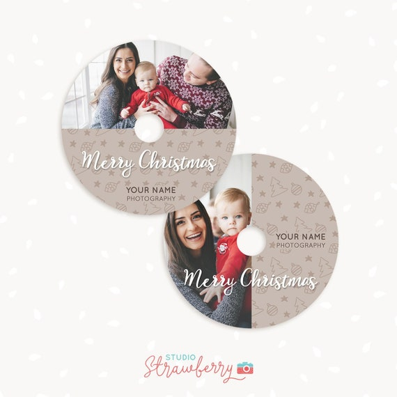 christmas dvd labels christmas dvd label template christmas etsy