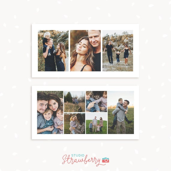 Photoshop collage template 10x20, Photo collage template 10x20, Storyboard template 10x20, 20x10 Storyboard Templates, Photography collage
