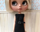 Blythe dress, chic black, Audrey Hepburn style
