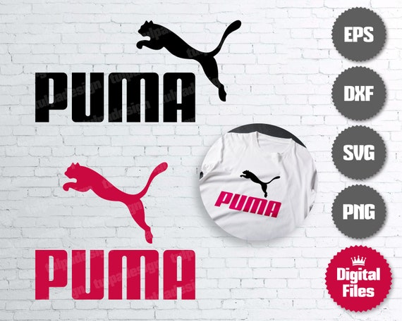 Puma Logo, Puma Cut File for Cricut, Silhouette, Cameo, Vector File, Soccer Svg, Digital Download, Instant Download, Puma Printable, Tshirt