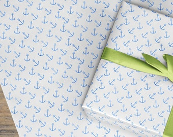 Boats sailing wrapping paper gift wrap, Wrapping Paper Roll