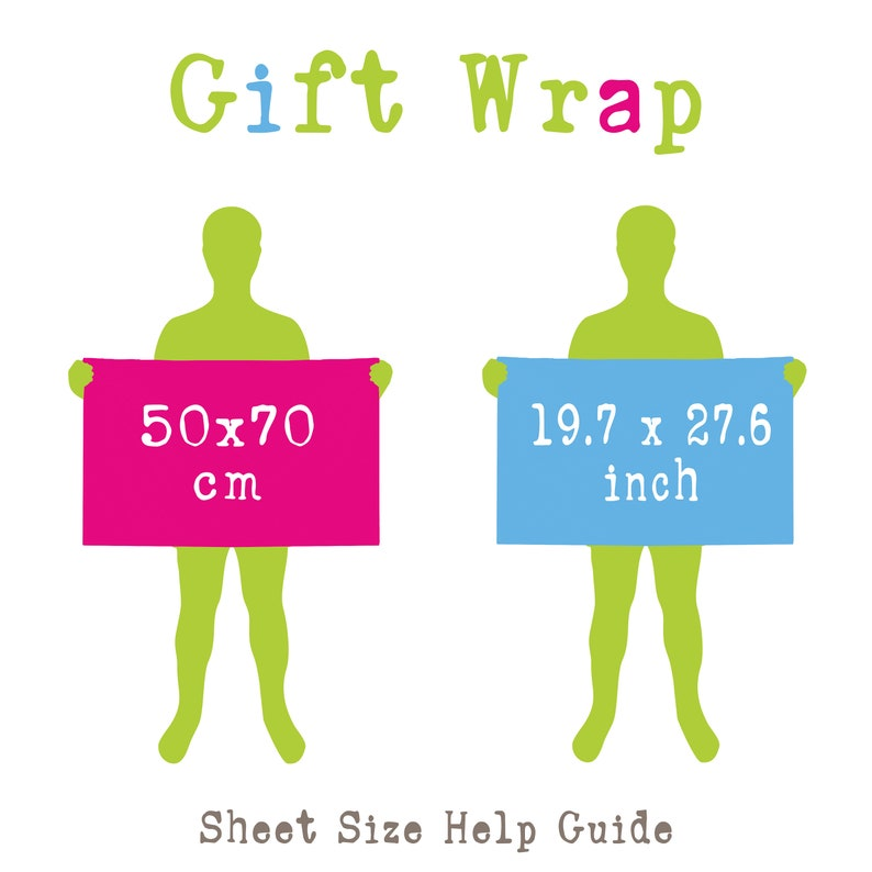 Wrapping Paper Roll kids birthday wrapping paper gift wrap