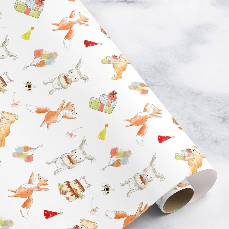 New boy wrapping paper Baby Boys wrapping paper blue wrapping paper gift wrap