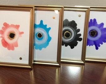 "Evil Eye Artwork 5X7"""