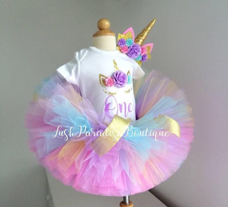 Unicorn birthday outfit
