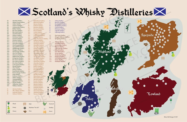 Scotland Whisky Distilleries Map and Poster for Man Cave or Bar Gift on scotland cities list, culloden moor map, scotland independence poll latest, guild of sommeliers scotch map, scotland wallpaper scottish highland castles, scotland gardens, scotland hamilton family, scotland scotch regions, scotland highlands maps, scotland hotels, scotland temperatures by month, scotland lochs, scotland plants, islay distillery map, highland distillery map, scotland accent, scotland scotch brands, scotland distillery poster, scotland beer, scotland whisky,