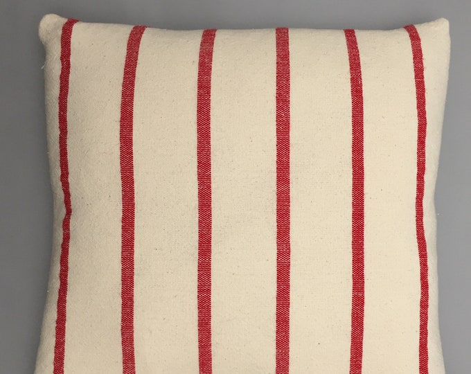 Hand woven cotton cushion