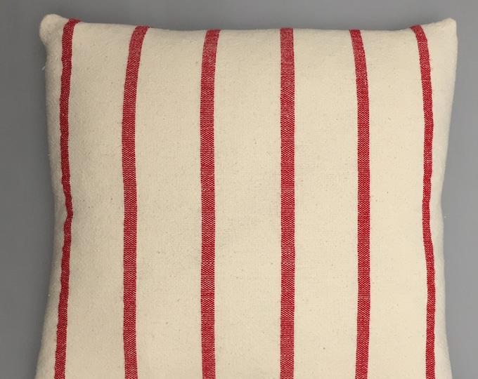 Hand woven cotton cushion