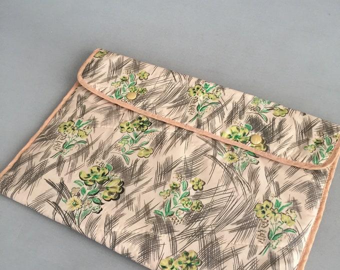 1950s make up / wash bag/ cosmetic bag