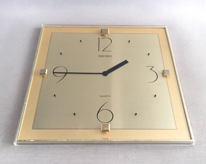 1980s Seiko wall clock