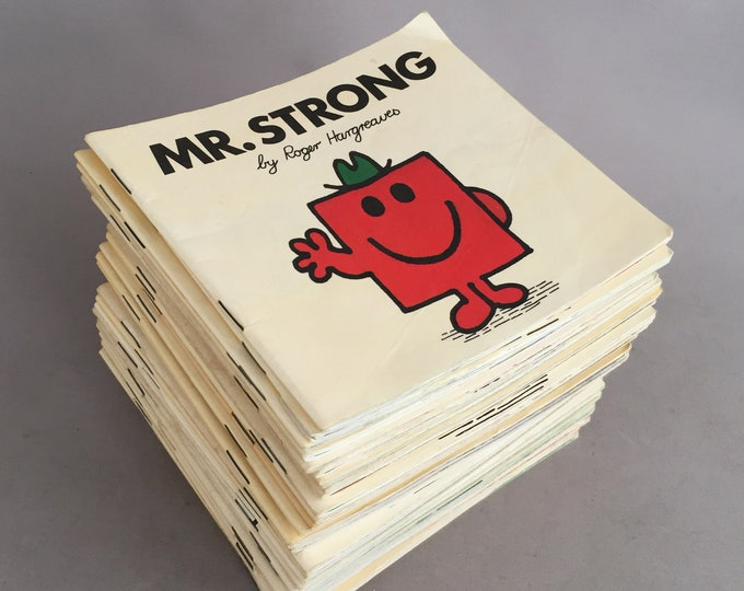 mr men books complete set