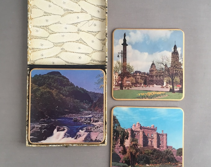 1950s set of coasters/ table protectors